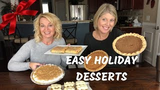 Easy Holiday Desserts