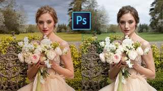 CAMERA RAW DA DÜĞÜN VE PORTRE FOTOĞRAFLARI NASIL DÜZENLENİR  (Ücretsiz Photoshop Eğitimi)