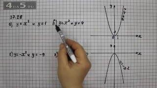 Упражнение 37.28. Алгебра 7 класс Мордкович А.Г.