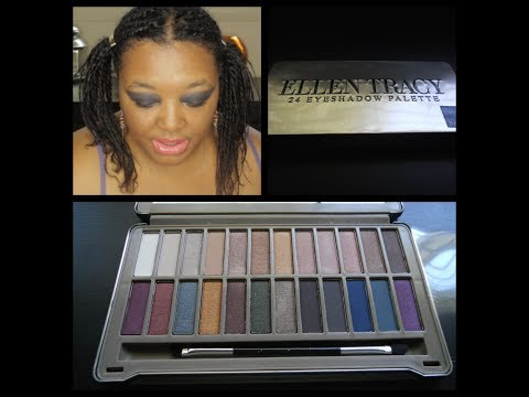 First Impression Review Ellen Tracy Essential Naturals Dramatic Bolds Palette