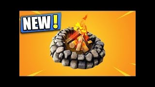 Foraged Campfire & Bottle Rockets In Fortnite! 🤔😎👌
