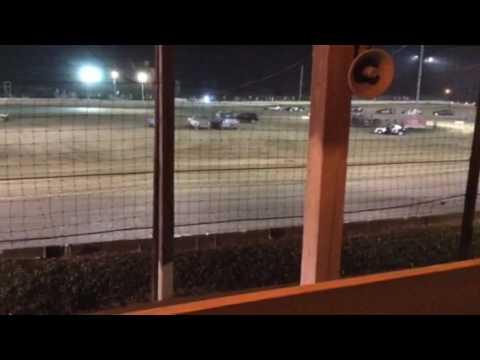 Sean Boyce Charleston Speedway 1st part of feature 7/8/17