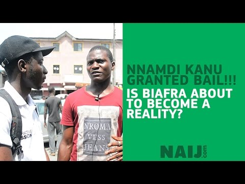With Nnamdi Kanu free - is Biafra about to become reality?