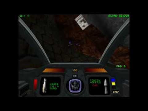 Let's Play Descent 1+ Level 7 - Mercury Core
