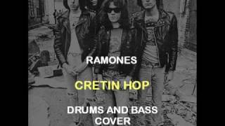 Ramones - Cretin Hop (Drums And Bass Backing Track Cover)