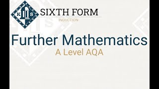 Further Mathematics Introduction