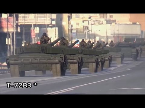 New Look Of The Brand New T-72B3 ✭ Russian Army 2017.