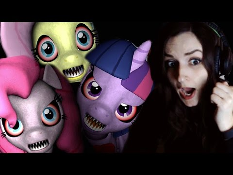 Five Nights at Pinkie's | Back at it Again with the MLP Horror Games!!