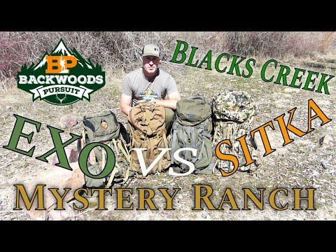 Best Hunting Backpacks 2020: Exo Vs Mystery Ranch Vs Sitka Vs Blacks Creek