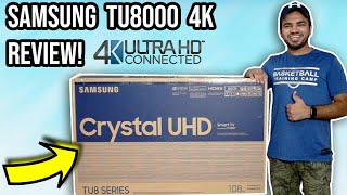 Samsung TU8000 4K TV Unboxing Review 2020 Best 4K Smart TV Under Rs 50 000 in India