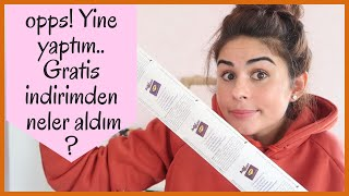 Video ALIŞVERİŞ : Gratis indiriminden neler aldım ? Azda Watsons var😬 download MP3, 3GP, MP4, WEBM, AVI, FLV Oktober 2018