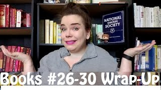 Books #26-30 Wrap-Up