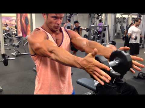 Standing Chest Press David Kimmerle