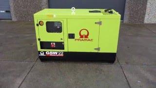 видео Дизель генератор Pramac GBL30D