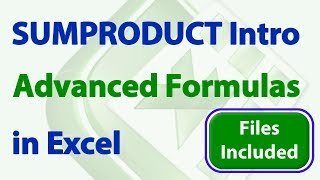 sUMPRODUCT in Excel - Introduction to Intermediate