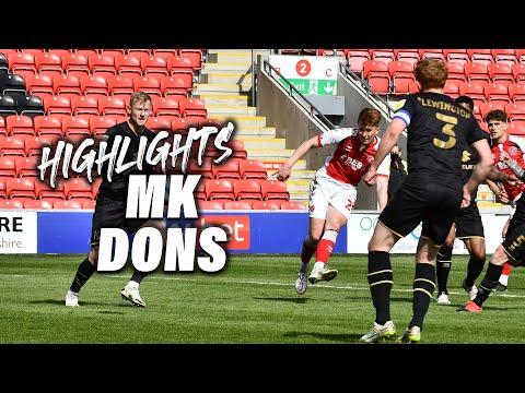 Fleetwood Town Milton Keynes Goals And Highlights