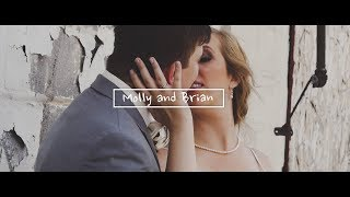 The wedding of Molly and Brian