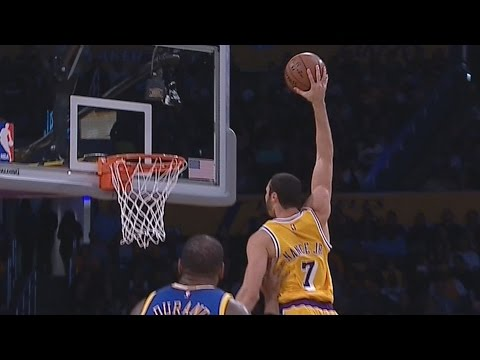 Lakers Stun Warriors! Nance JR Poster! Golden State Warriors vs Los Angeles Lakers