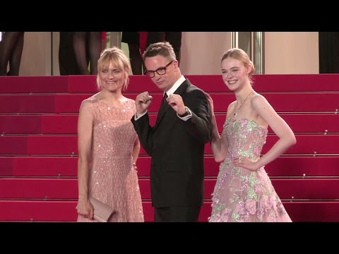 Elle Fanning, Nicolas Winding Refn and more attends the Premiere of The Neon Demon at the Cannes Fil