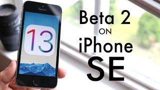 iOS 13 BETA 2 On iPhone SE! (Review)