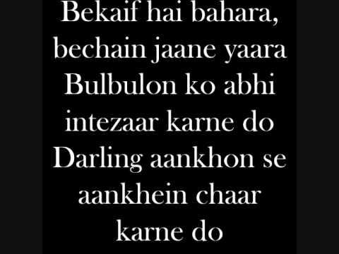 Darling-7khoon maaf lyrics.wmv
