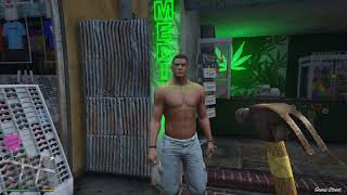 Grand Theft Auto V muscle man
