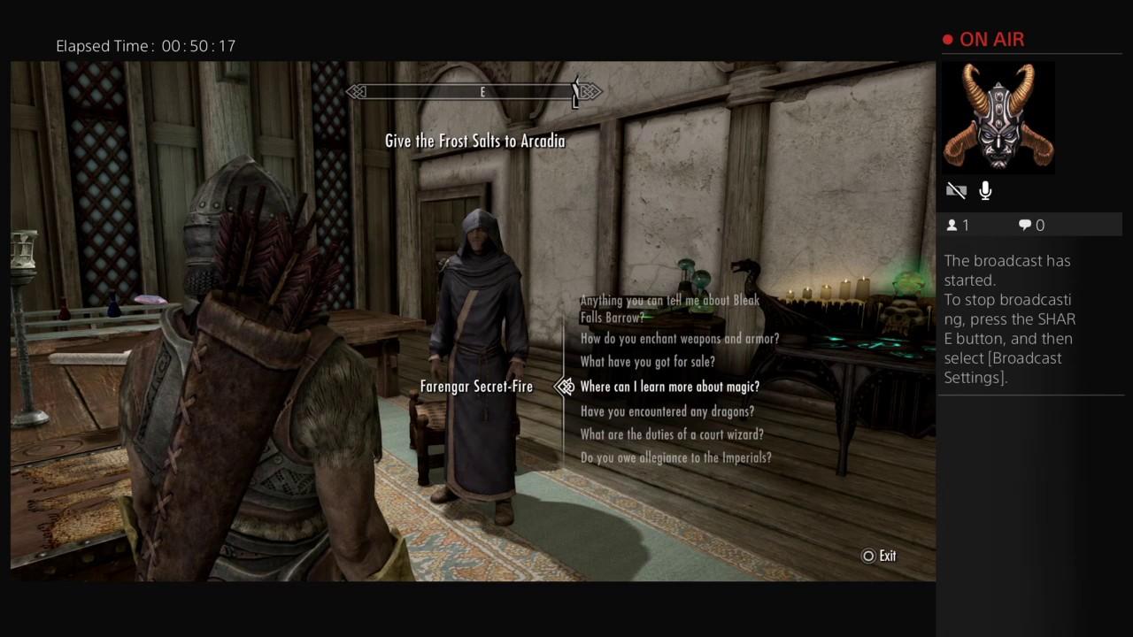 Merron Mist In Skyrim I Will Conquer This World Part 4 Youtube