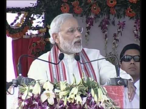 PM Modi at the Inauguration of New Railway line from Hazaribagh to Kodarma