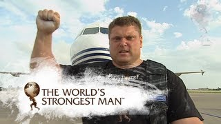 2009 Plane Pull: Žydrūnas Savickas | World's Strongest Man