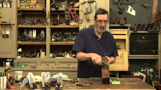 Preparing A Wooden Jack Plane - With Paul Sellers
