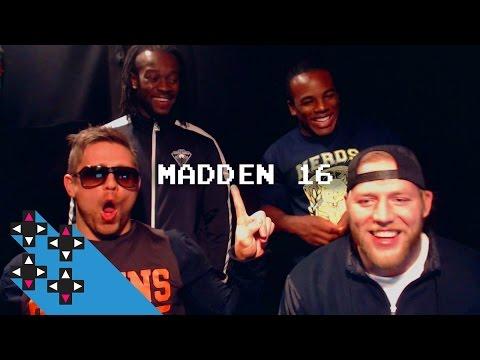 SEMI-FINAL: The Miz vs. Jack Swagger (Madden 16 Tournament) — Gamer Gauntlet