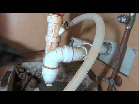 kitchen sink repair from hell