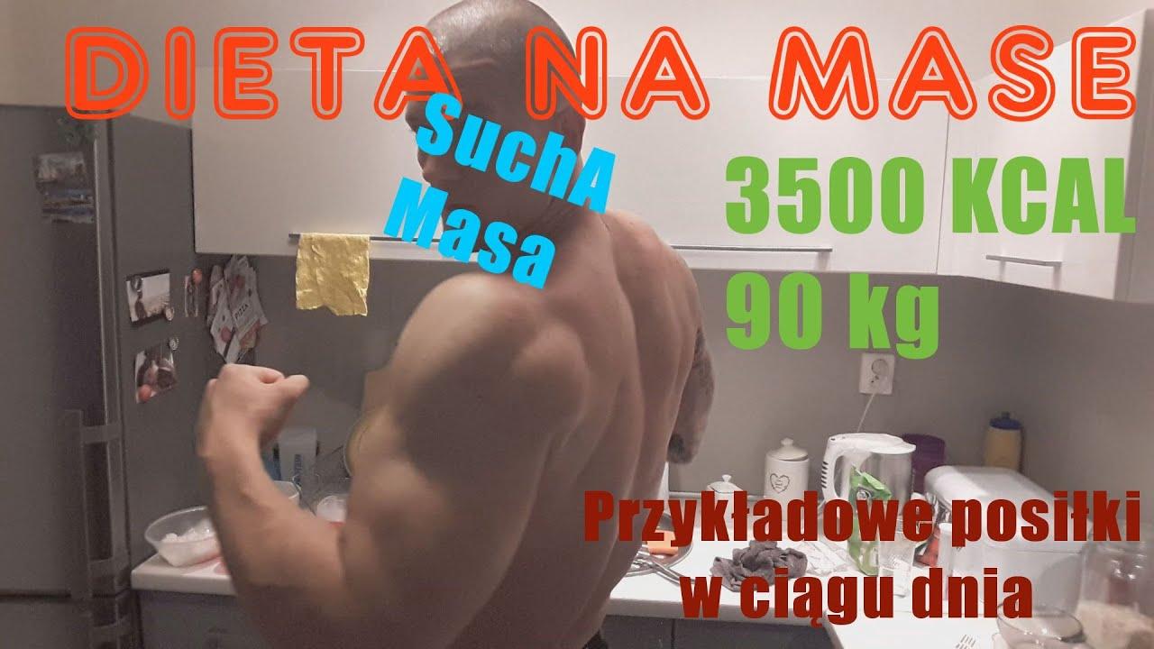 Dieta 3500 kcal redukcja