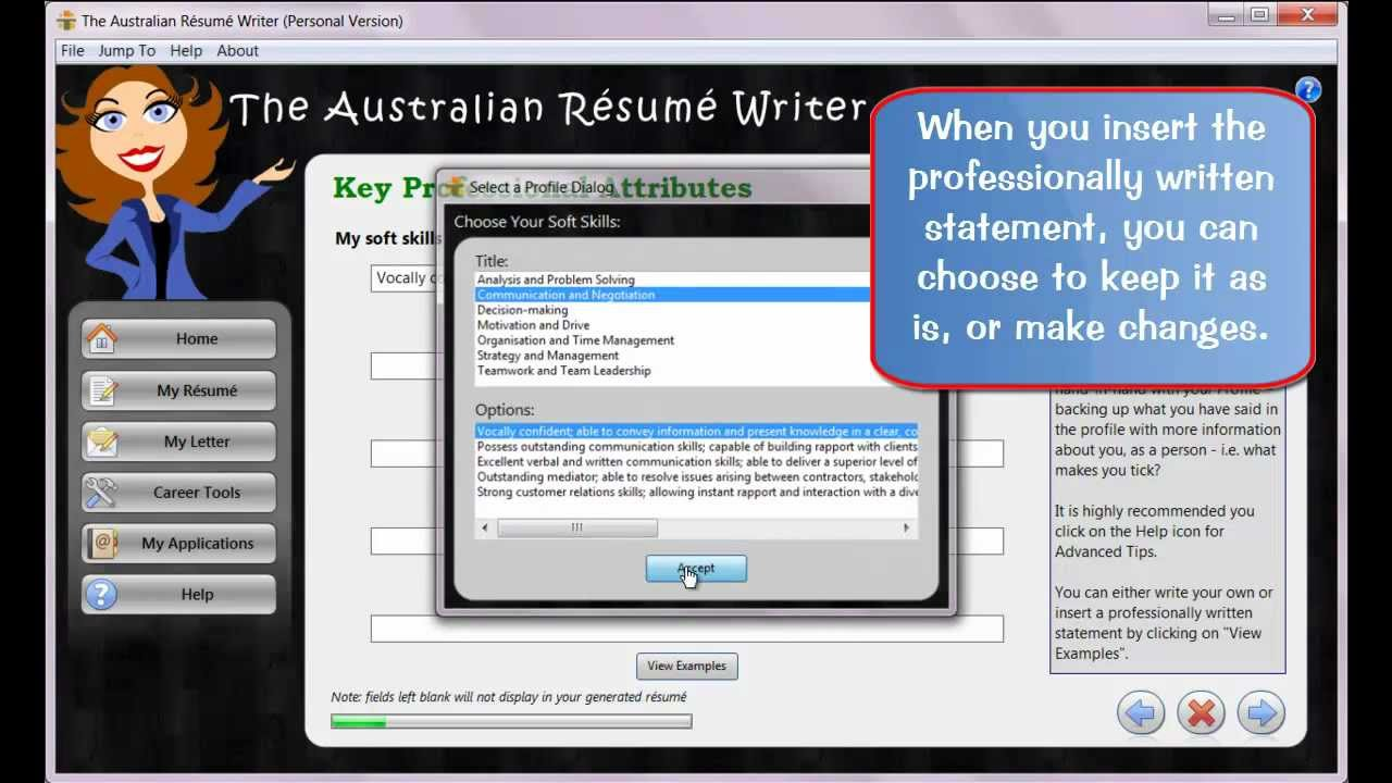The Australian Resume Writer Resume Wizard Youtube