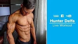 Intense Abs Workout Routine | Hunter Delfa