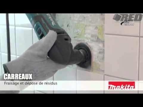 Decoupeur Ponceur Multifonctions Makita Btm50rfex6 Tm3000cx8 Youtube