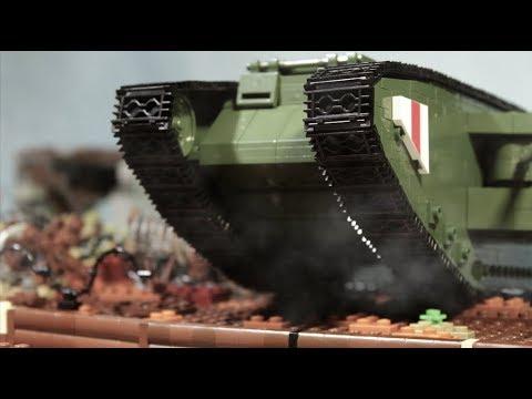Битва на Сомме, Первая Мировая Война, лего фильм, 2 часть