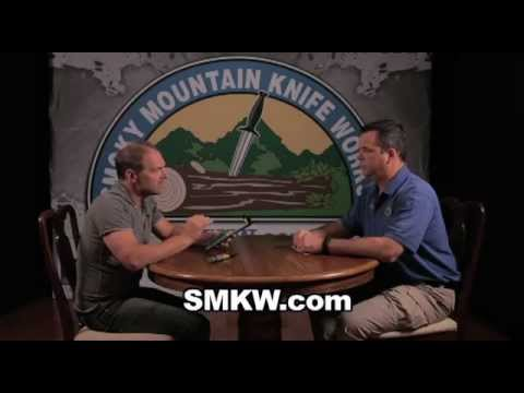 Les Stroud - Interview at Mountain Knife Works 2 of 2