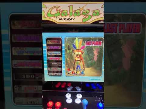 Arcade1up Galaga upgrade 12000 games from J M Arcades