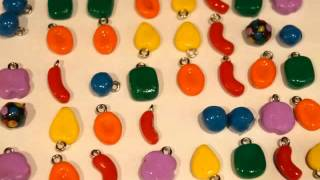 Polymer Clay Candy Crush Charms Level 65!