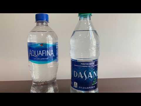 AquaFina VS Dasani -  #Water Test - PH And TDS