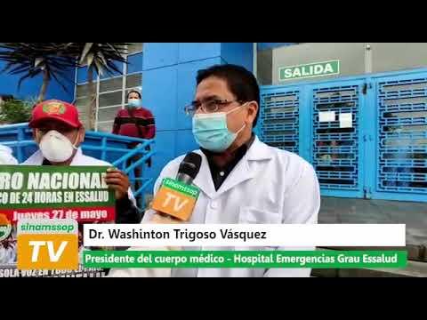 Presidente del CCMM de Emergencias Grau exigió eficiencia y prontitud para atender tercera ola...