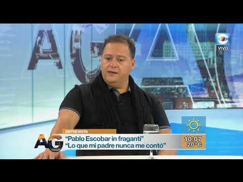 Juan Pablo Escobar presentó In Fraganti