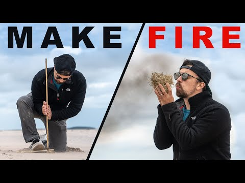 Learning to Make Fire the Hard Way