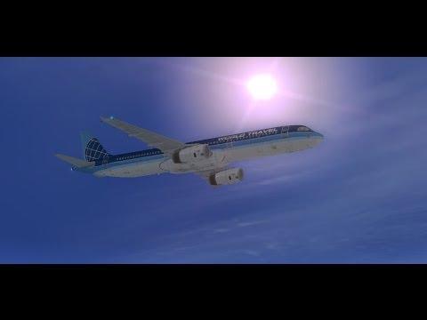 World Travel Airlines Advertisement