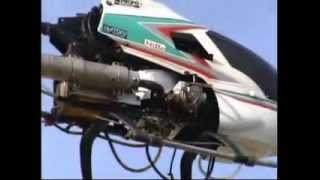Model RC heli with Wankel engine by Nitto