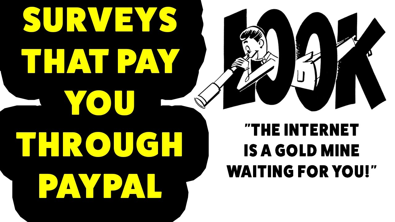 surveys for cash through mail surveys that pay you through paypal surveys that pay 1099