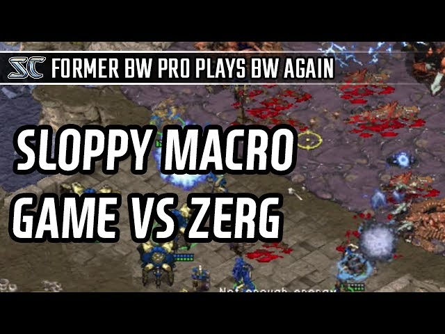 Sloppy macro game against Zerg l StarCraft: Brood War l Crank