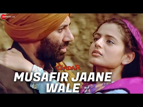 Gadar - Musafir Jaane Wale - Full Song Video   Sunny Deol - Ameesha Patel - HD