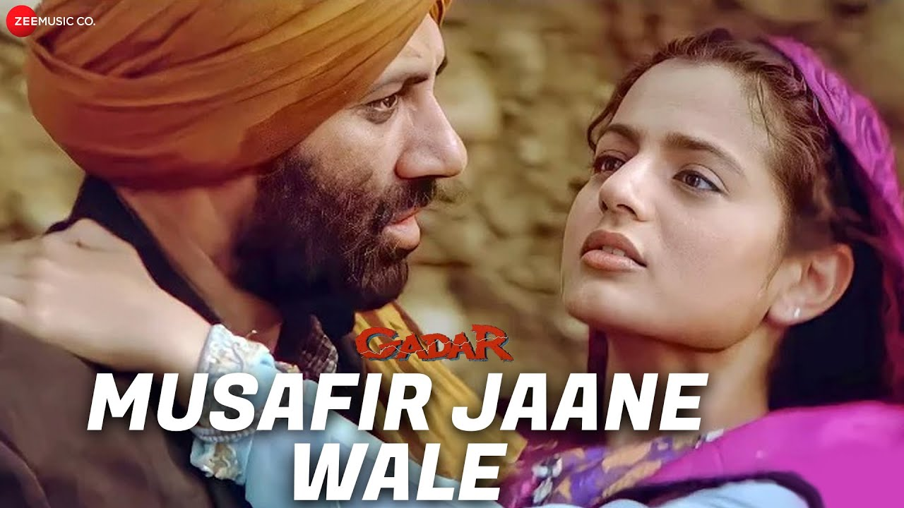 Gadar - Musafir Jaane Wale - Full Song Video | Sunny Deol - Ameesha Patel - HD